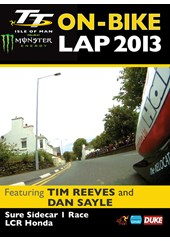 TT 2013 On Bike Lap Sidecar Reeves & Sayle