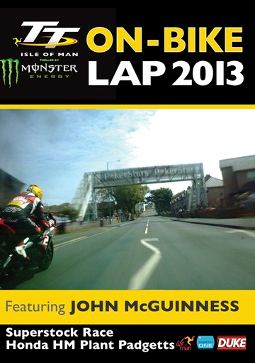 TT 2013 On Bike Lap John McGuinness Superstock Race Download - click to enlarge