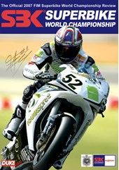 World Superbike 2007 DVD Signed Toseland Sleeve
