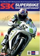 World Superbike 2007 DVD Signed Toseland Sleeve