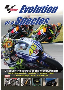 MotoGP Evolution of a Species DVD