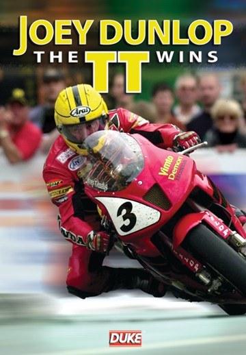 Joey Dunlop The TT Wins DVD - click to enlarge