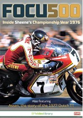Focus 500 Inside Sheene's Championship Year 1976 DVD