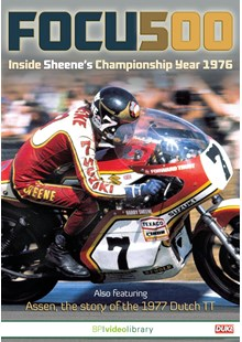 Focus 500 Inside Sheene's Championship Year 1976 DVD