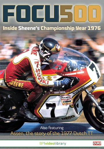 Focus 500 Inside Sheene's Championship Year 1976 DVD - click to enlarge