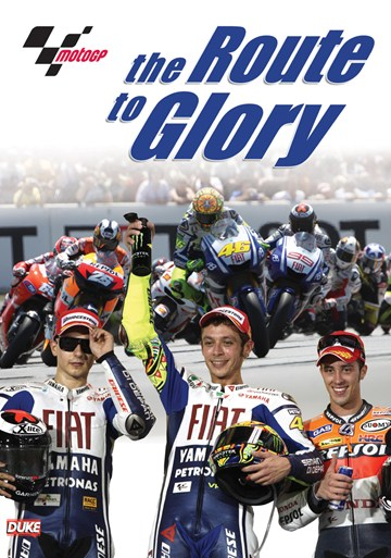 MotoGP The Route to Glory DVD - click to enlarge