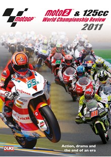 MotoGP Moto2 & 125cc 2011 Review DVD