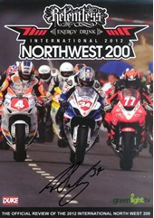 North West 200 2012  DVD Signed by Alastair Seeley