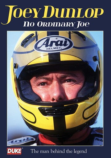 Joey Dunlop - No Ordinary Joe NTSC DVD - click to enlarge