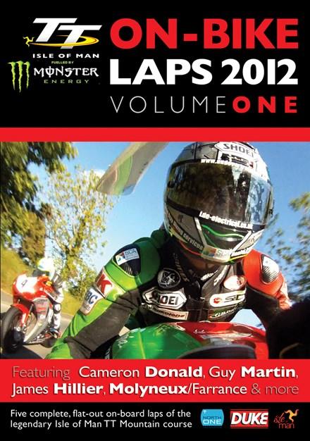 TT 2012 On Bike Laps Vol 1 DVD
