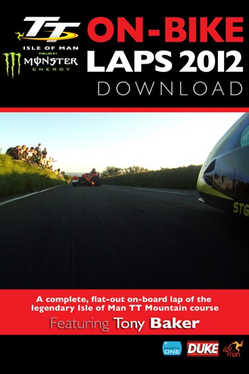 TT 2012 On Bike Lap Tony Baker  Sidecar Tuesday Practice Download - click to enlarge