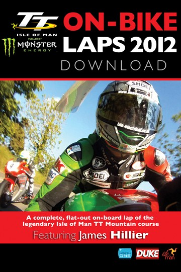 TT 2012 On Bike Lap James Hillier  Superbike Tuesday Practice HD Download - click to enlarge