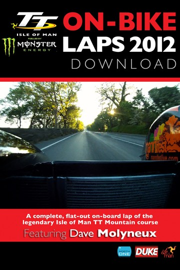 TT 2012 On Bike Lap Dave Molyneux Sidecar Tuesday Practice HD Download - click to enlarge
