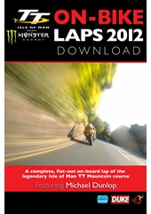TT 2012 On Bike Michael Dunlop Supersport 2 Race Lap 2 HD Download