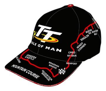 TT Map Cap Black - click to enlarge