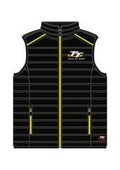 TT Black and Green Bodywarmer