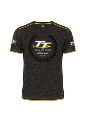 TT Isle of Man Race Custom T-Shirt Yellow Trim
