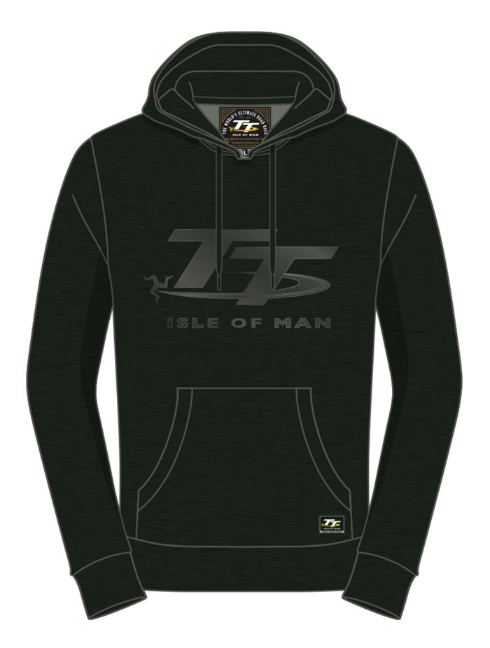 TT Hoodie Dark Green - click to enlarge
