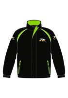 TT Padded Jacket with Black and GreenTrim