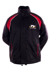 TT Padded Jacket with Black and Red Trim