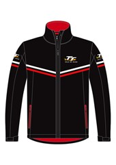 TT Softshell Jacket with Red Piping