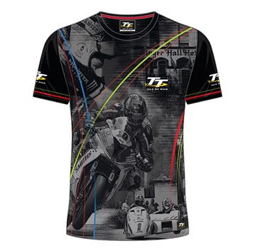 TT All over Print T-Shirt Multi Stripped - click to enlarge