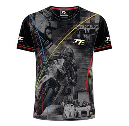 TT All over Print T-Shirt Multi Stripped