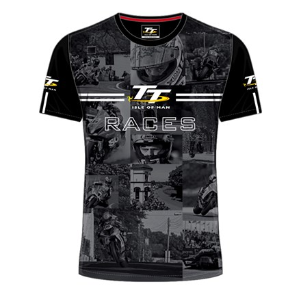 TT All over Print Races T- Shirt - click to enlarge