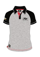 TT Polo Grey, Black Sleeve