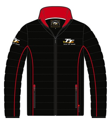 TT Ribbed Jacket Red Piping - click to enlarge