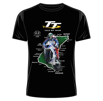 TT Course 2018 T-Shirt Black - click to enlarge