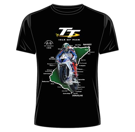 TT Course 2018 T-Shirt Black