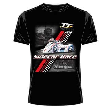 TT 2018 Sidecar T-shirt Black - click to enlarge