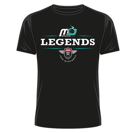 Dunlop & McGuinness Legends T- Shirt Black - click to enlarge