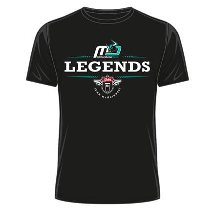 Dunlop & McGuinness Legends T- Shirt Black