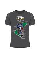 TT Course 2018 T-Shirt Dark Heather