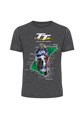 TT Course 2018 T-Shirt Dark Heather