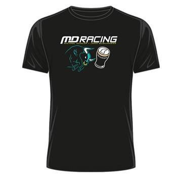 Dunlop Bull, McGuinness Pint T- Shirt Black - click to enlarge