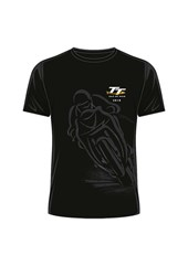 TT 2018 Black Shadow Bike T-shirt Black
