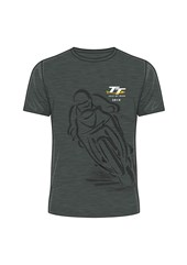 TT 2018 Shadow Bike T-shirt dark heather
