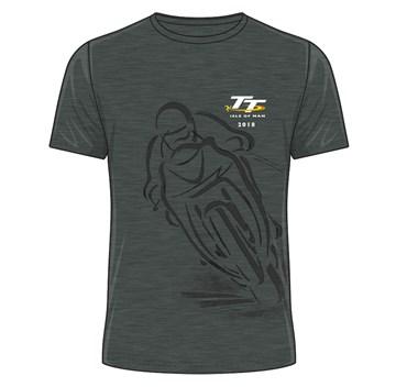 TT 2018 Shadow Bike T-shirt dark heather - click to enlarge