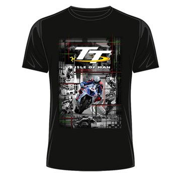 Isle of Man TT 2018 Peter Hickman T-shirt (black) - click to enlarge