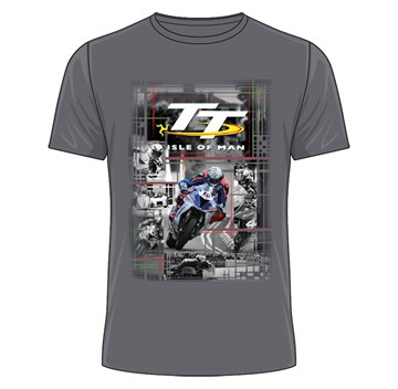 TT 2018 Peter Hickman T-shirt (Grey) - click to enlarge