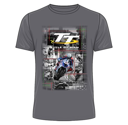 TT 2018 Peter Hickman T-shirt (Grey) - click to enlarge