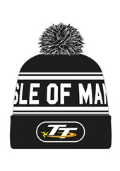 TT Bobble Hat Black/White