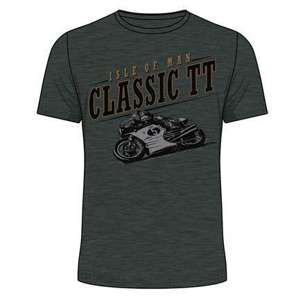 Classic TT Bike 5 T-Shirt Dark Heather