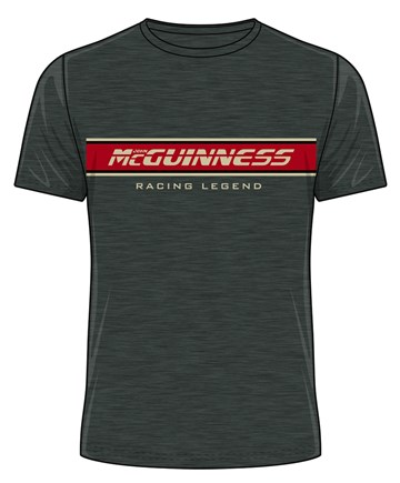 McGuinness Racing Legend T-Shirt Dark Heather - click to enlarge