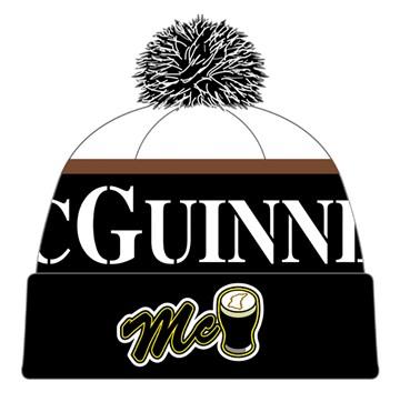 John McGuinness Bobble Hat - click to enlarge