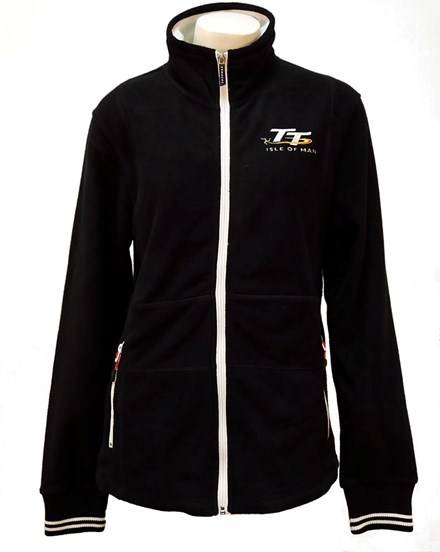 TT Ladies Fleece Navy - click to enlarge