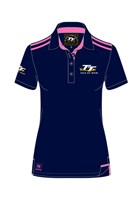 TT Ladies Polo Navy/Pink
